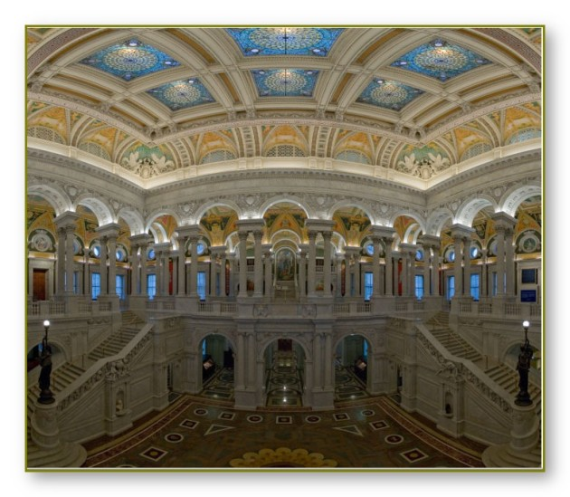 The Great Hall, Library of Congress, Washington, D.C.