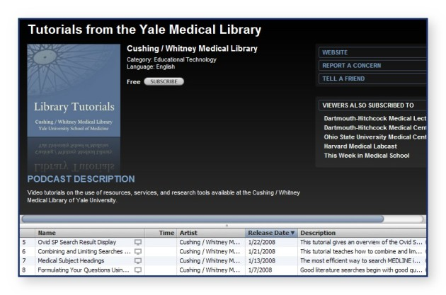 itunesyalemedicallibrary3