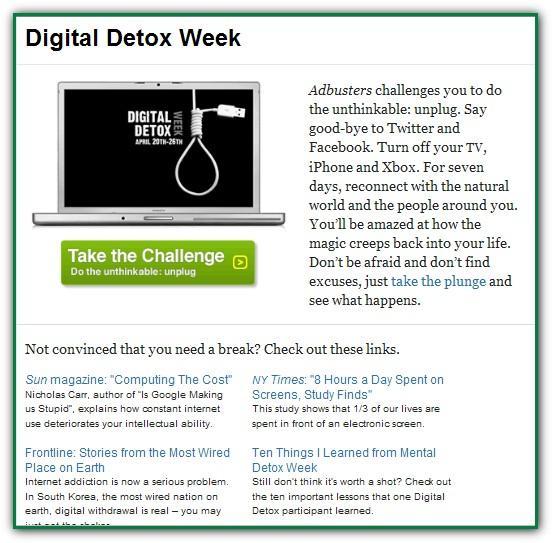 digitaldetoxweek