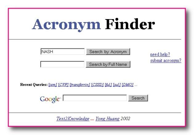 AcronymFinder