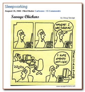 SleepworkingSavageChickens